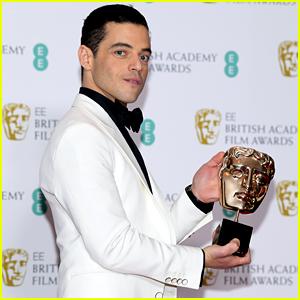 Rami Malek Wins Best Actor at BAFTAs 2019!