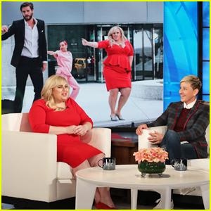 Rebel Wilson Tells 'Ellen' She Was Surprised Liam Hemsworth Is Funny Because He's 'So Hot'