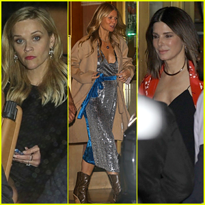Reese Witherspoon, Gwyneth Paltrow & Sandra Bullock Attend Jennifer Aniston's 50th Birthday Party!