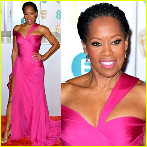 Regina King Is Pretty in Pink for BAFTAs 2019!
