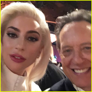 Richard E. Grant Had the Best Time Taking Selfies with Celebs at Oscars Luncheon 2019