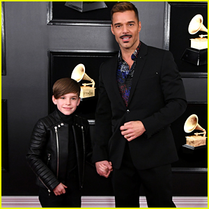 Ricky Martin Brings His Son Matteo to the Grammys 2019!