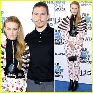 Riley Keough & Husband Ben Smith-Petersen Couple Up for Spirit Awards 2019