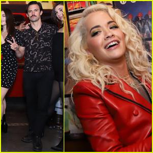 Rita Ora & Milo Ventimiglia Step Out For Birthday Celebrations in Las Vegas!