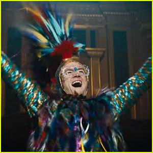Taron Egerton Is Elton John in 'Rocketman' - Watch the Trailer!