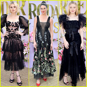 Lucy Boynton, Shailene Woodley, & Dakota Fanning Wear Ethereal Looks at Rodarte Show!