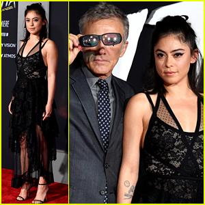 Rosa Salazar Joins 'Alita: Battle Angel' Cast at L.A. Premiere!