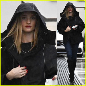 Rosie Huntington-Whiteley Heads Out After an Appointment in Beverly Hills