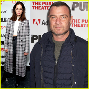 Ruth Wilson & Liev Schreiber Support 'Sea Wall/A Life' Opening Night!