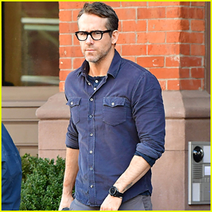 Ryan Reynolds Heads to a Business Meeting in New York City