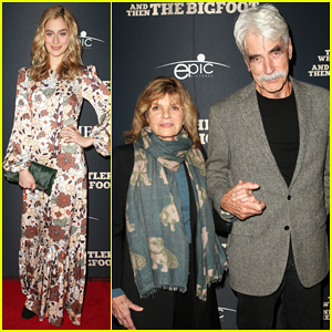 Sam Elliott Celebrates 'The Man Who Killed Hitler and Then the Bigfoot' Premiere!