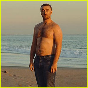 Sam Smith's Shirtless Photo Comes with An Empowering Message