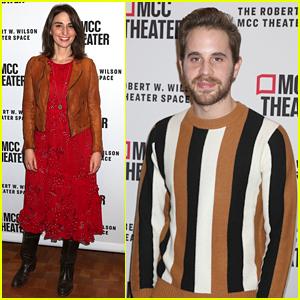 Sara Bareilles & Ben Platt Support Their Friends at 'Alice By Heart' Opening