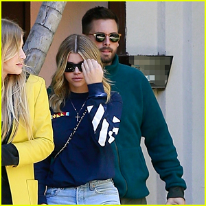 Scott Disick & Sofia Richie Visit a Friend in Beverly Hills