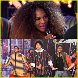 Serena Williams Joins Andy Roddick For 'Finesse' Lip Sync Battle Performance - Watch!