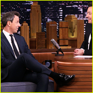 Seth Meyers Opens Up About His Love for Rihanna (Video)