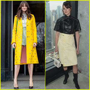 Shailene Woodley Shows Her Style During NYFW 2019 Events!