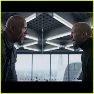 Dwayne Johnson & Jason Statham Star in 'Fast & Furious Presents: Hobbs & Shaw' Trailer - Watch!