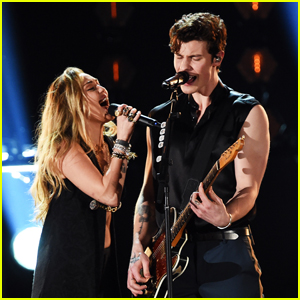 Shawn Mendes Bares His Biceps for Grammys 2019 Performance with Miley Cryrus - Watch!