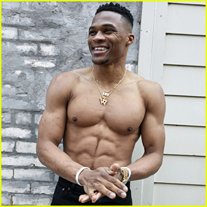 Shirtless Russell Westbrook Shows Off Chiseled Abs for Acne Studios' New Campaign