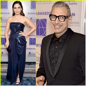 Sophia Bush Joins Jeff Goldblum at Excellence In Production Design Awards!