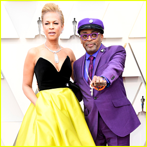 Best Director Nominee Spike Lee & Wife Tonya Lewis Lee Hit the Red Carpet at Oscars 2019!
