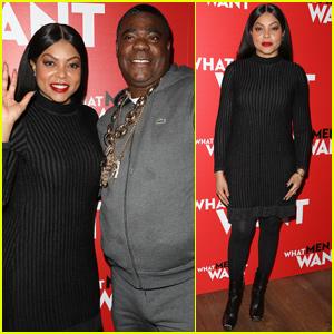 Taraji P. Henson & Tracy Morgan Host 'What Men Want' Screening in NYC
