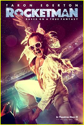 Taron Egerton is Elton John on New 'Rocketman' Poster