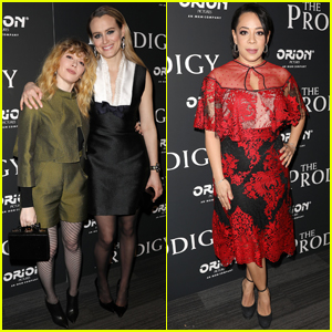 Taylor Schilling is Supported by 'OITNB' Co-Stars at 'The Prodigy' Screening!