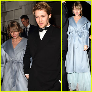 Taylor Swift & Joe Alwyn Hold Hands After BAFTAs 2019!