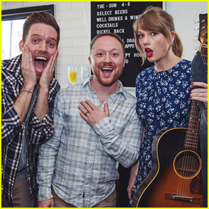Taylor Swift Sings at Her Fan's Engagement Party! (Video)