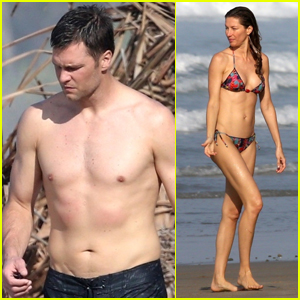 Tom Brady & Gisele Bundchen Bare Their Hot Beach Bodies in Costa Rica!