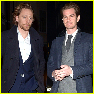 Tom Hiddleston, Andrew Garfield, & More Step Out for Pre-BAFTAs Party