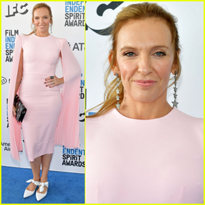 Toni Collette is Pretty in Pink at Spirit Awards 2019