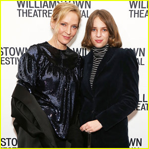 Uma Thurman & Daughter Maya Hawke Have Night Out at Williamstown Theatre Gala!