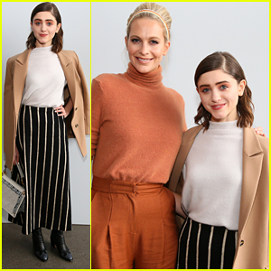 Natalia Dyer Joins Poppy Delevingne at Noon By Noor Fashion Show at NYFW