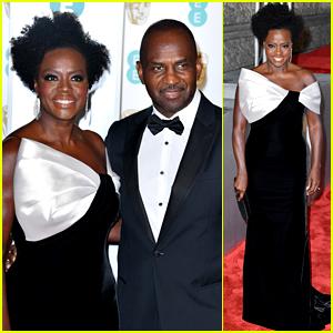 Viola Davis Attends BAFTAs 2019 with Husband Julius Tennon