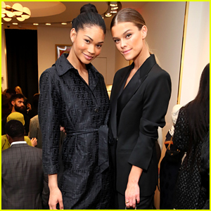 Chanel Iman & Nina Agdal Join Model Pals at What Goes Around Comes Around Store Opening