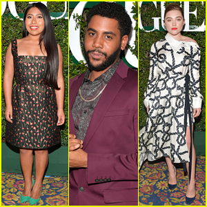Yalitza Aparicio, Florence Pugh, & Jharrel Jerome Are Celebrated at Teen Vogue Young Hollywood Party!