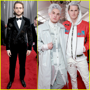 Zedd Steps Out With Collaborator Grey at Grammys 2019!