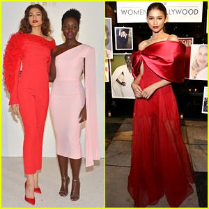 Zendaya Celebrates Role as New Lancome Ambassadress with Lupita Nyong'o