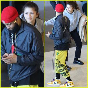 Zendaya Sneaks Up Behind Odell Beckham Jr., Surprises Him in Cute New Photos!