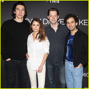 Adam Driver & Keri Russell Join 'Burn This' Broadway Cast at NYC Photo Call!
