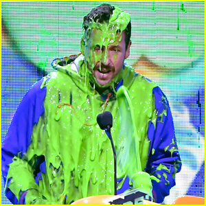 Adam Sandler Gets Slimed at Kids' Choice Awards 2019!