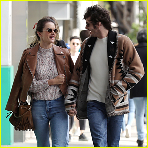 Alessandra Ambrosio & Boyfriend Nicolo Oddi Are All Smiles on Their Way to Lunch