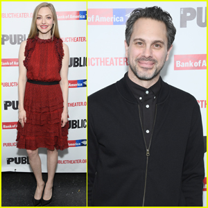 Amanda Seyfried Supports Husband Thomas Sadoski at Opening Night of 'White Noise'