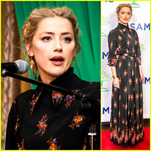 Amber Heard Opens Up About Her Medical Missions to Jordan & Lebanon