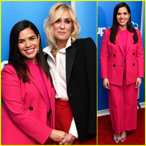 America Ferrera Reunites with 'Ugly Betty' Co-Star Judith Light at 'Superstore' Q&A!