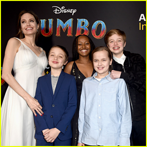 Angelina Jolie Stuns at 'Dumbo' Premiere with Her Kids!