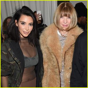 Anna Wintour Speaks Out About Kim Kardashian's Fashion Choices